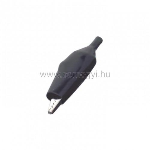Krokodilcsipesz, 55mm, fekete