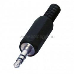 Jack dugó, sztereó, 3,5mm, 2 db