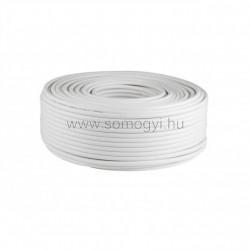 Koax kábel, 75 ohm, 100 m/tekercs