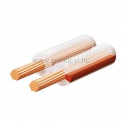 Hangszóróvezeték, transzparent, 2x1mm, 100m/tekercs