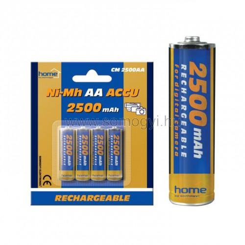 Akkumulátor, aa, 2500 ma, ni-mh, 4 db / bliszter