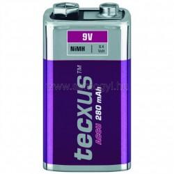 Akkumulátor, 9v, 250ma, ni-mh
