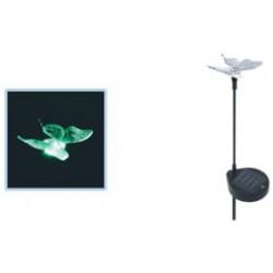 Napelemes kerti lámpa, pillangó