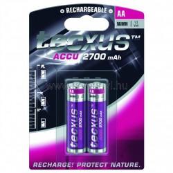 Akkumulátor, aa, 2700ma, ni-mh, 2db/bliszter