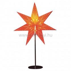 Papírcsillag dekoráció, asztali, 230v