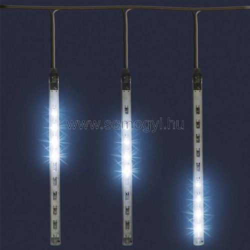Led-es jégcsap fényfüggöny, 3,6 m, ip44, 230v