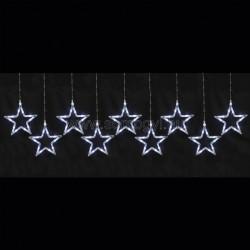 Led-es fényfüggöny, csillag, 0,8m, 230v