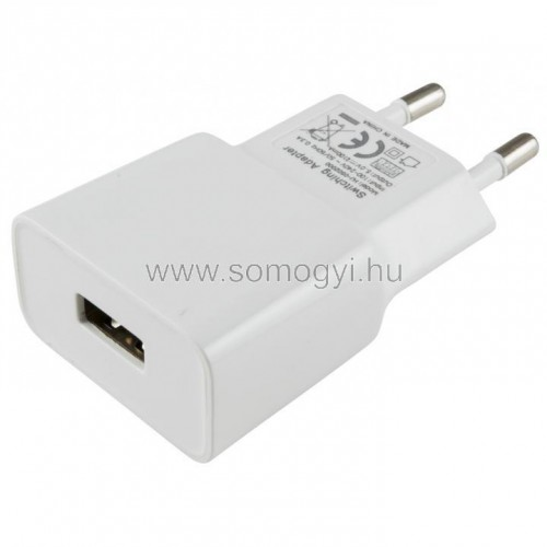 Adapter usb aljzattal, 2,1 a
