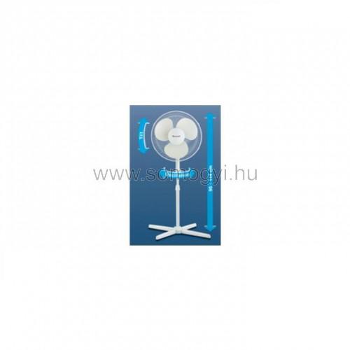 állványos ventilátor, 40 cm, 50 w