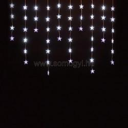 Led-es fényfüggöny, csillag, 1,35m, 230v