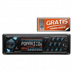 Autórádió és zenelejátszó, usb/sd/fm/rds/aux, 4x45w