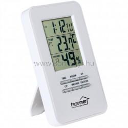 Hő- és páratartalom-mérő ébresztőórával