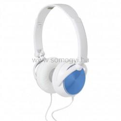 Sztereo fejhallgató, behajtható hangszórókkal
