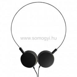 Sztereo fejhallgató, elfordítható hangszórókkal,
