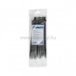 Kábelkötegelő, 200 x 3,5 mm, fekete