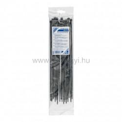 Kábelkötegelő, 300 x 4,8 mm, fekete