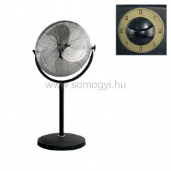 álló fém ventilátor, 45 cm, 100w