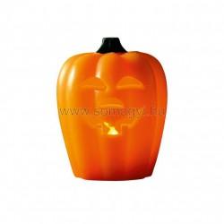 Halloween led-es viaszmécses, töklámpás, 3v