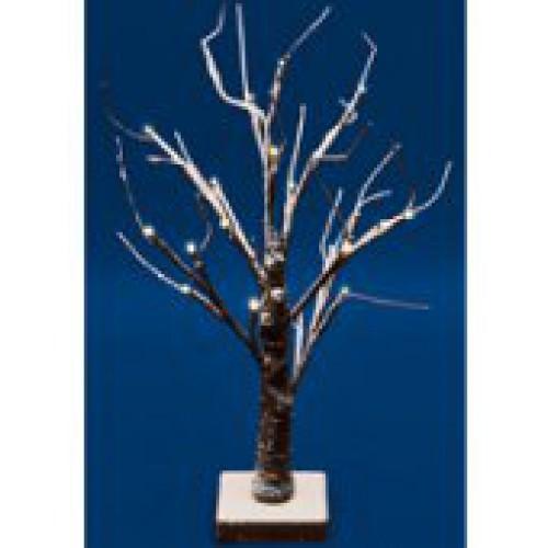 Led-es asztali fa dekoráció, 45 cm