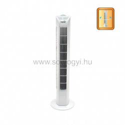 Oszlopventilátor, fehér, 80 cm, 45w