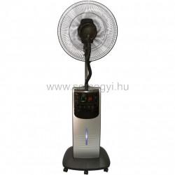 Párásító ventilátor, ezüst, 40 cm, 90w
