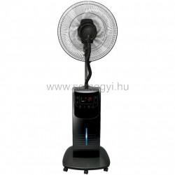 Párásító ventilátor, fekete, 40 cm, 90 w