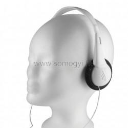Sztereo fejhallgató, hangerő-limit, hajlékony