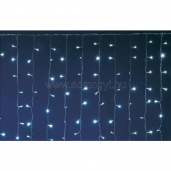 Led-es sorolható fényfüggöny, 2 x 2 m, ip44
