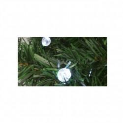 Dekoráció izzósorhoz, gömb, 50 db, ø5 mm-es led-re