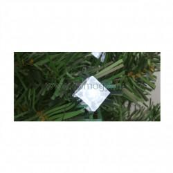 Dekoráció izzósorhoz, kocka, 50 db, ø5 mm-es led-re