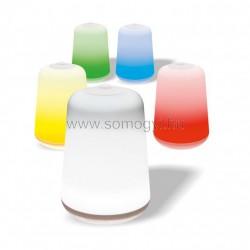 Színes led asztali lámpa