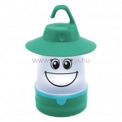 Gyermek led kempinglámpa, zöld