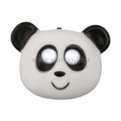 Led-es gyerekfejlámpa, panda