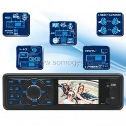 Autórádió és multimédia-lejátszó
