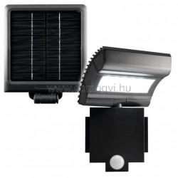 Led-es fényvető, napelemes, mozgásérzékelővel