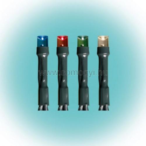Led-es izzósor, színes,  7m, ip44, 230v