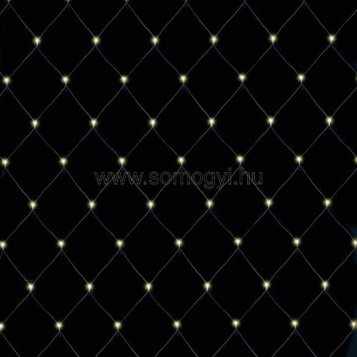 Led-es fényháló, 6x4m, ip44, 230v