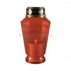 Kegyeleti led-es mécses, piros