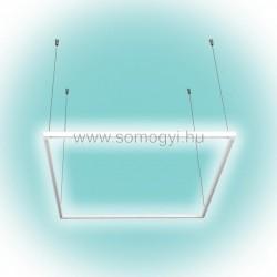 álmennyezeti led-es lámpatest