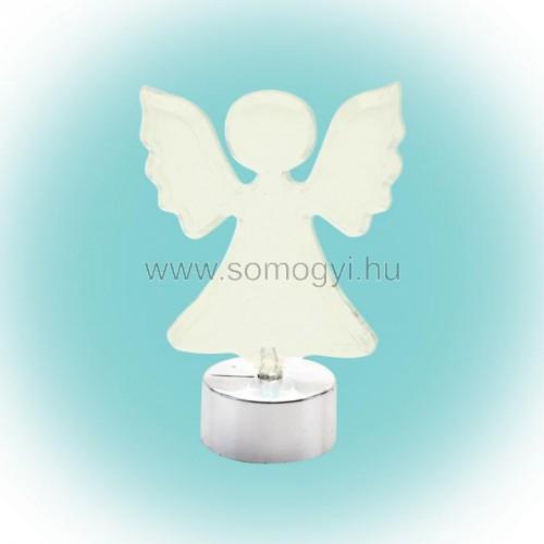 Led-es asztali dísz, angyal