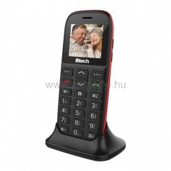 Senior mobiltelefon asztali töltővel