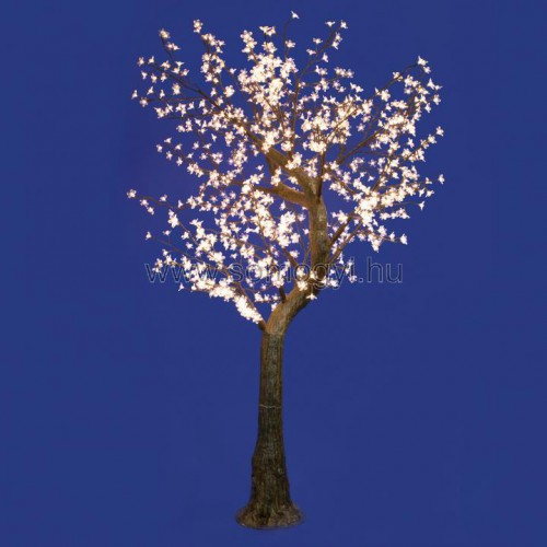 Led-es virágzó cseresznyefa