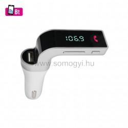 6in1 telefon-kihangosító és bt-fm modulátor