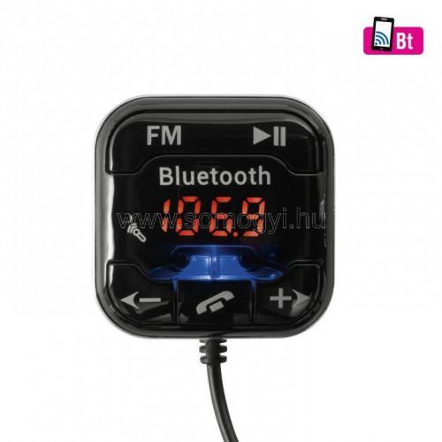 4in1 telefon-kihangosító és bt-fm modulátor