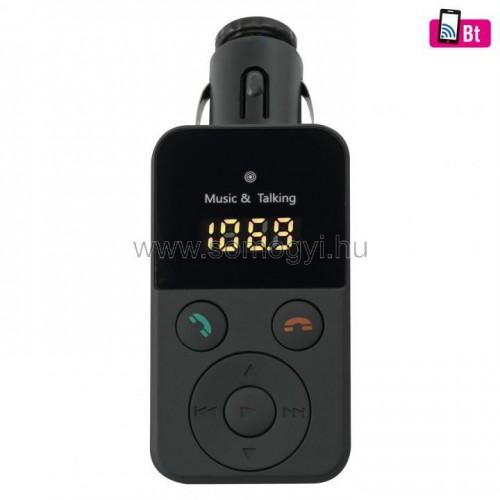 4in1 telefon-kihangosító és bt-fm moldulátor