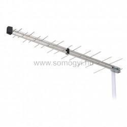Uhf logper tv tetőantenna erősítővel