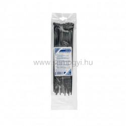 Kábelkötegelő, 250 x 4,8 mm, fekete
