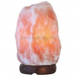 Sókristálylámpa, kő forma, 1-2kg