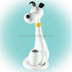 Led-es asztali lámpa, kutya