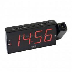 Digitális, led ébresztőóra projektorral